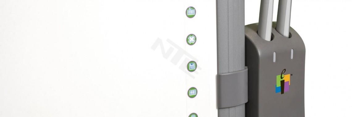 Zestaw 2 piórek interaktywnych z ładowarką