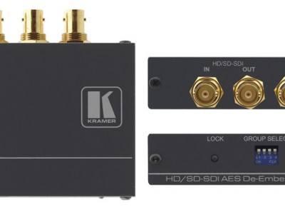 Kramer 6808HDxl - Converters - Audio: 3G HD-SDI AES De-Embedder http://www.ivojo.co.uk/component.php?pid=Kramer_6808HDxl