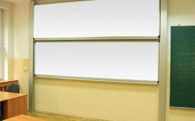 Tablica akademicka Vittoria biała lakierowana w systemie zależnym