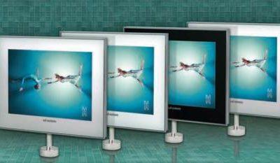 System telewizji za lustrem BATHROOM TWISTER