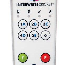 System pilotów do testów Interwrite PRS Cricket
