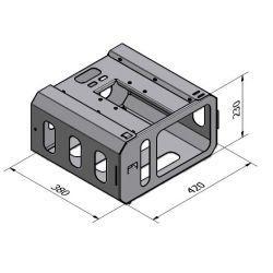 PSC21 Klatka Ochronna na Projektor (mała, do uchwytów serii