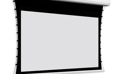 Ekran projekcyjny Tensio Classic Elegance – z napinaczami