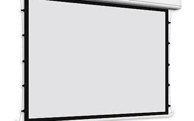 Ekran projekcyjny Tensio Elegance – z napinaczami