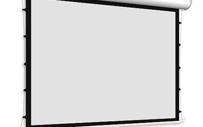 Ekran projekcyjny Adeo Tensio Linear – z napinaczami