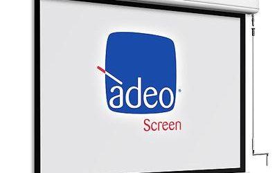 Ekran projekcyjny Adeo Winch Elegance