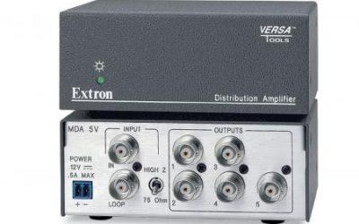 Extron Audio/Video Distribution Amplifiers