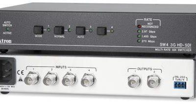 Extron Switcher SW4 3G HD-SDI