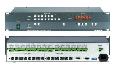 Kramer YC + Audio Matrix Switchers