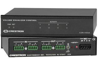 DAC 24-bit 96KHz Crestron C2N-VEQ4