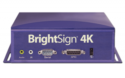 Player BrightSign 4K1142 Networked Multi-Control Interactive and Live HDTV