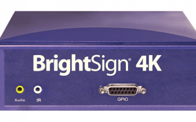 Player BrightSign 4K242 Networked Basic Interactive