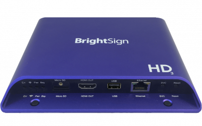 Player BrightSign HD1023 Expanded I/O Player
