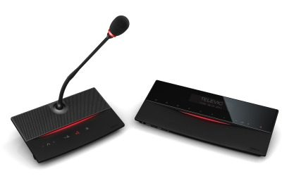 Televic D-Cerno – system konferencyjny ustawiany na blacie