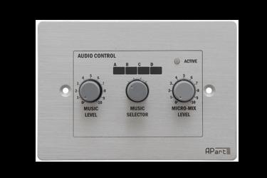 Regulator głośności Biamp PM1122R