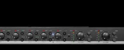Dwustrefowy-6-kanałowy przedwzmacniacz stereo AUDAC PRE126MK1