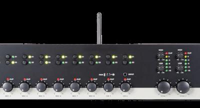 Dwustrefowy-10-kanałowy przedwzmacniacz stereo AUDAC PRE220
