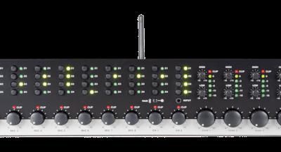 Czterostrefowy-10-kanałowy przedwzmacniacz stereo AUDAC PRE240