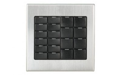 Crestron 2-Gang Faceplates and Metallic Faceplate Covers for CNX-B Designer Keypads B-G2-FP