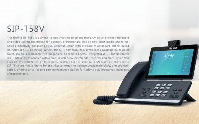 Wideo Telefon Yealink T58V