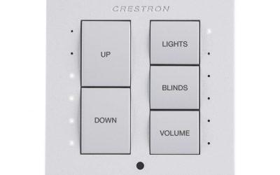 Crestron Cameo® Keypad – International Version C2NI-CB