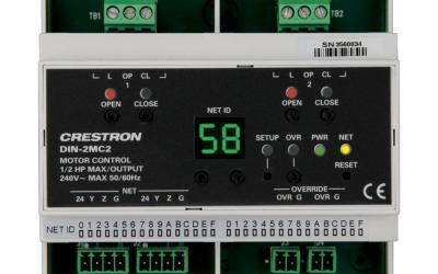 Crestron DIN Rail Motor Control DIN-2MC2