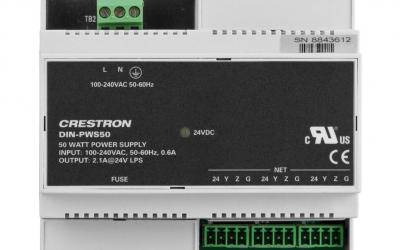 Crestron DIN Rail 50 Watt Cresnet Power Supply DIN-PWS50