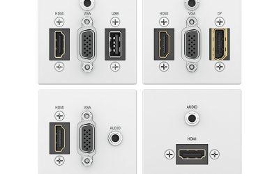 Konfigurowalny moduł do przyłącza HDMI + VGA + AUDIO  Extron Flex55 SuperPlate Series