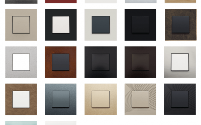 Crestron Pure Faceplates for CLWI & Niko Keypads FP-PURE