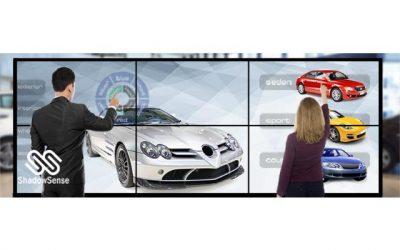 Monitory wielkoformatowe NEC – Modular Touch System