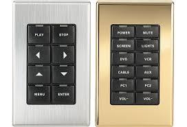 Crestron 1-Gang Metallic Faceplate Covers for CNX-B Designer Keypads B-G1-FP