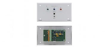 Kramer SV-304 Przyłącze ścienne SummitView™ dla sygnałów komponent wideo, audio S/PDIF i IR