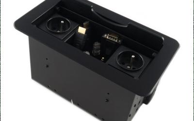 Przyłącze stołowe MediaPort AV-SBOX-2